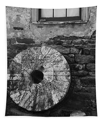 Old Mill Stone Tapestry