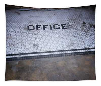 Old Office- Urban Photography By Linda Woods Tapestry