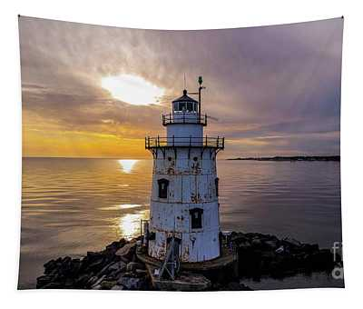 Old Saybrook Outer Light Tapestry