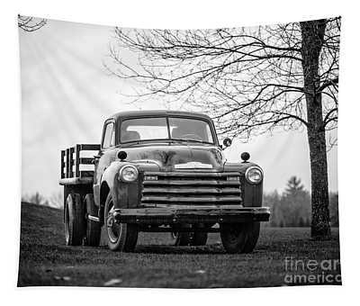 Old Texas Farm Truck Tapestry