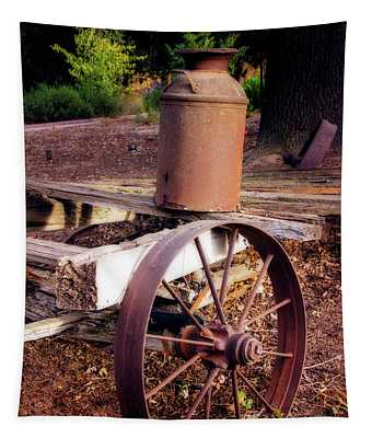 Old Time Wagon Tapestry