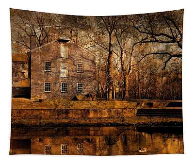 Old Village - Allaire State Park Tapestry