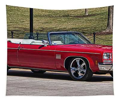 Oldsmobile Delta Royale 88 Red Convertible Tapestry