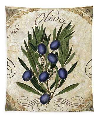Oliva Black Olives Tapestry