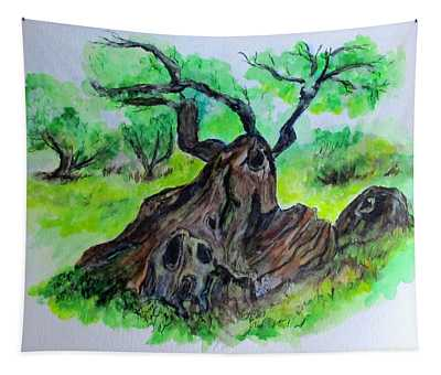 Olive Tree Tapestry