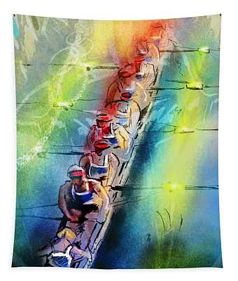 Olympics Rowing 02 Tapestry