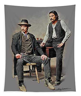 Bullock And Swearengen Tapestry