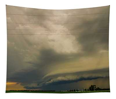 Ominous Nebraska Outflow 007 Tapestry