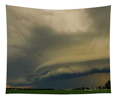 Ominous Nebraska Outflow 007 Tapestry