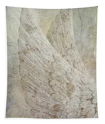 On Angels Wings 2 Tapestry