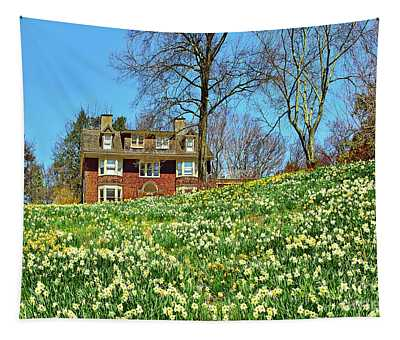 On Daffodil Hill- Reeves-reed Arboretum  Tapestry
