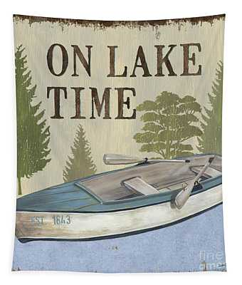 On Lake Time Tapestry