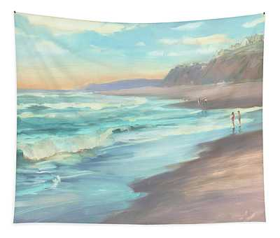 On The Beach Tapestry