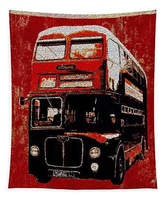 On The Bus Tapestry