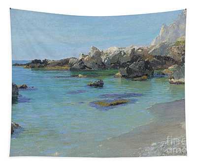 On The Capri Coast Tapestry