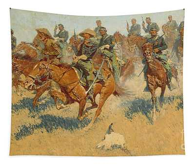 On The Southern Plains, 1907 Tapestry