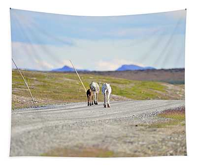 On The Way Tapestry