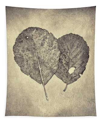 One Leaf Two Leaf Tapestry