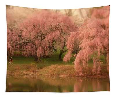 One Spring Day - Holmdel Park Tapestry