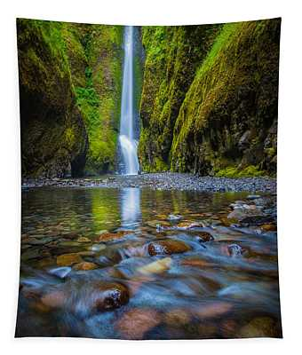 Oneonta Cascades Tapestry