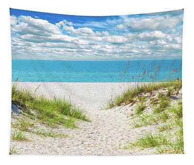 Orange Beach Al Seascape 1086a Tapestry