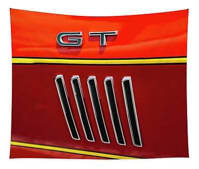 Orange Gt Tapestry