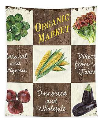 Organic Market Patch Tapestry