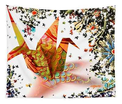 Origami 2017 Tapestry