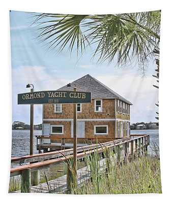 Ormond Yacht Club Tapestry