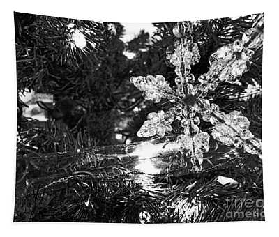 Tapestry featuring the photograph Ornamental Snowflake by Robert Knight