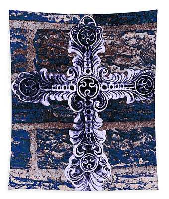 Ornate Cross 2 Tapestry