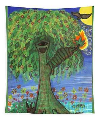 Osain Tree Tapestry