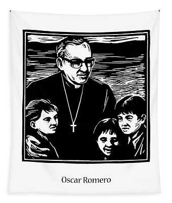St. Oscar Romero - Jlosc Tapestry