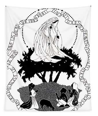 Our Lady Of Fatima - Dpolf Tapestry