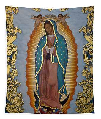 Our Lady Of Guadalupe - Lwlgl Tapestry