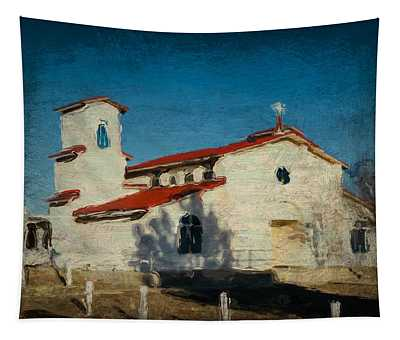Our Lady Of La Salette Mission Paint Tapestry