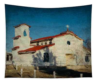Our Lady Of La Salette Mission Paint Tapestry