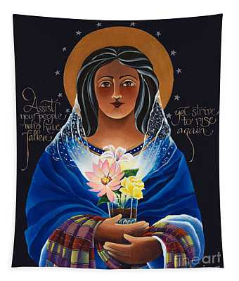 Our Lady Of Light - Help Of The Addicted - Mmlol Tapestry