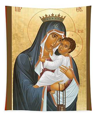 Our Lady Of Mount Carmel - Rlolc Tapestry