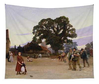Our Village Tapestry