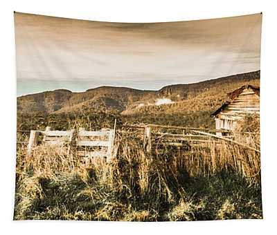 Outback Obsolescence  Tapestry