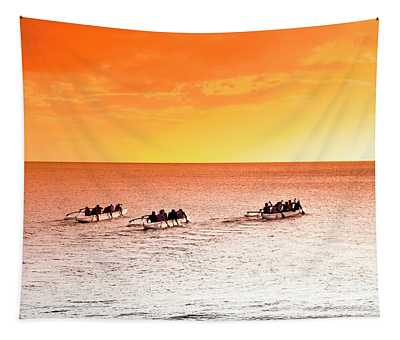 Outrigger Pastels Tapestry