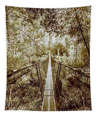 Over Australian Native Forests Tapestry