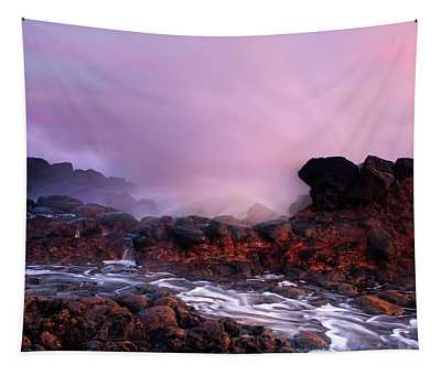 Overcome By The Tides Tapestry