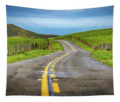 Pacific Coast Road To Tomales Bay Tapestry