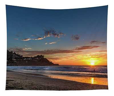 Pacifica Sunset Tapestry