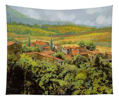 Paesaggio Toscano Tapestry