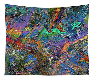 Paint Number 28 Tapestry