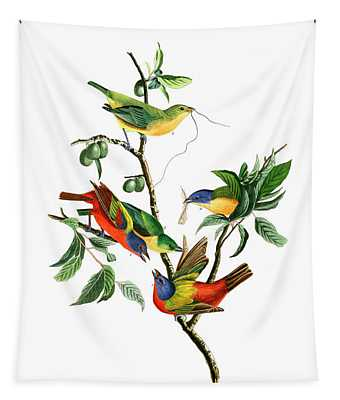 Painted Finch Tapestry