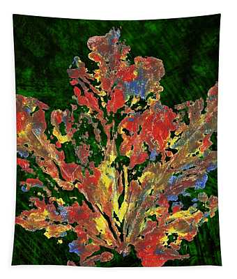 Painted Nature 1 Tapestry